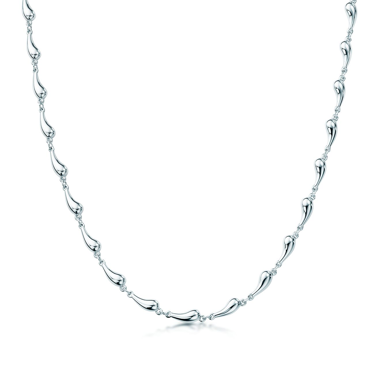 Elsa peretti teardrop necklace in sterling silver tiffany co elsa perettiteardrop necklace mozeypictures Choice Image