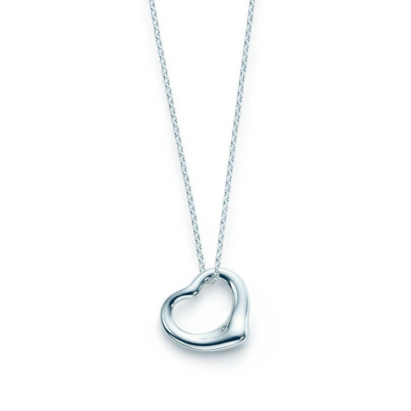 Elsa peretti open heart pendant in sterling silver tiffany co elsa perettiopen heart pendant aloadofball Gallery