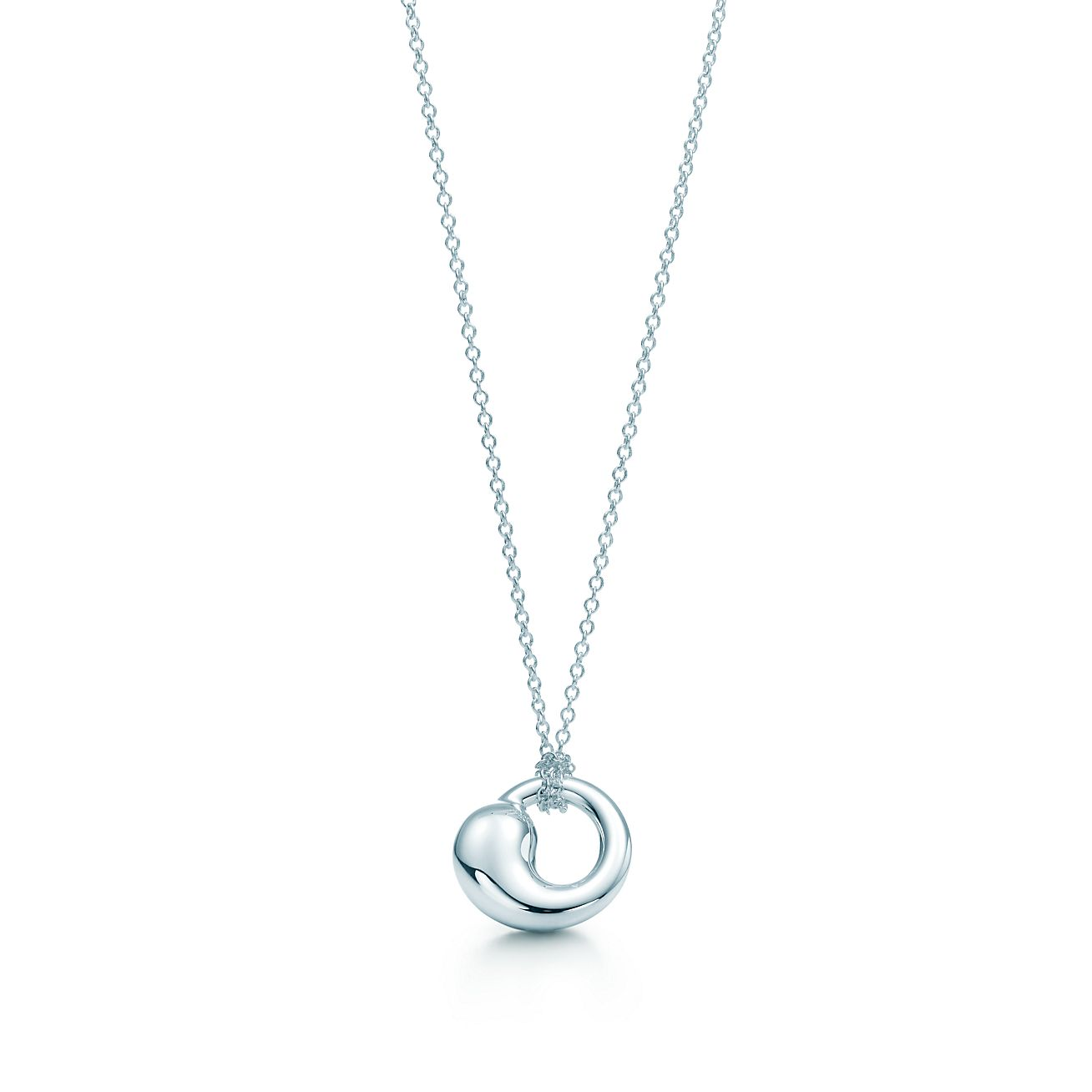 Elsa peretti eternal circle pendant in sterling silver small elsa perettieternal circle pendant mozeypictures Choice Image