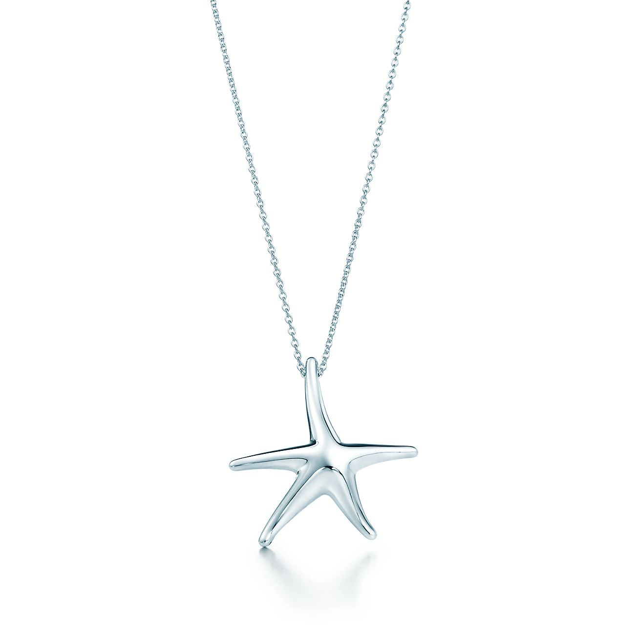 Elsa peretti starfish pendant in sterling silver mini tiffany elsa perettistarfish pendant audiocablefo light Images