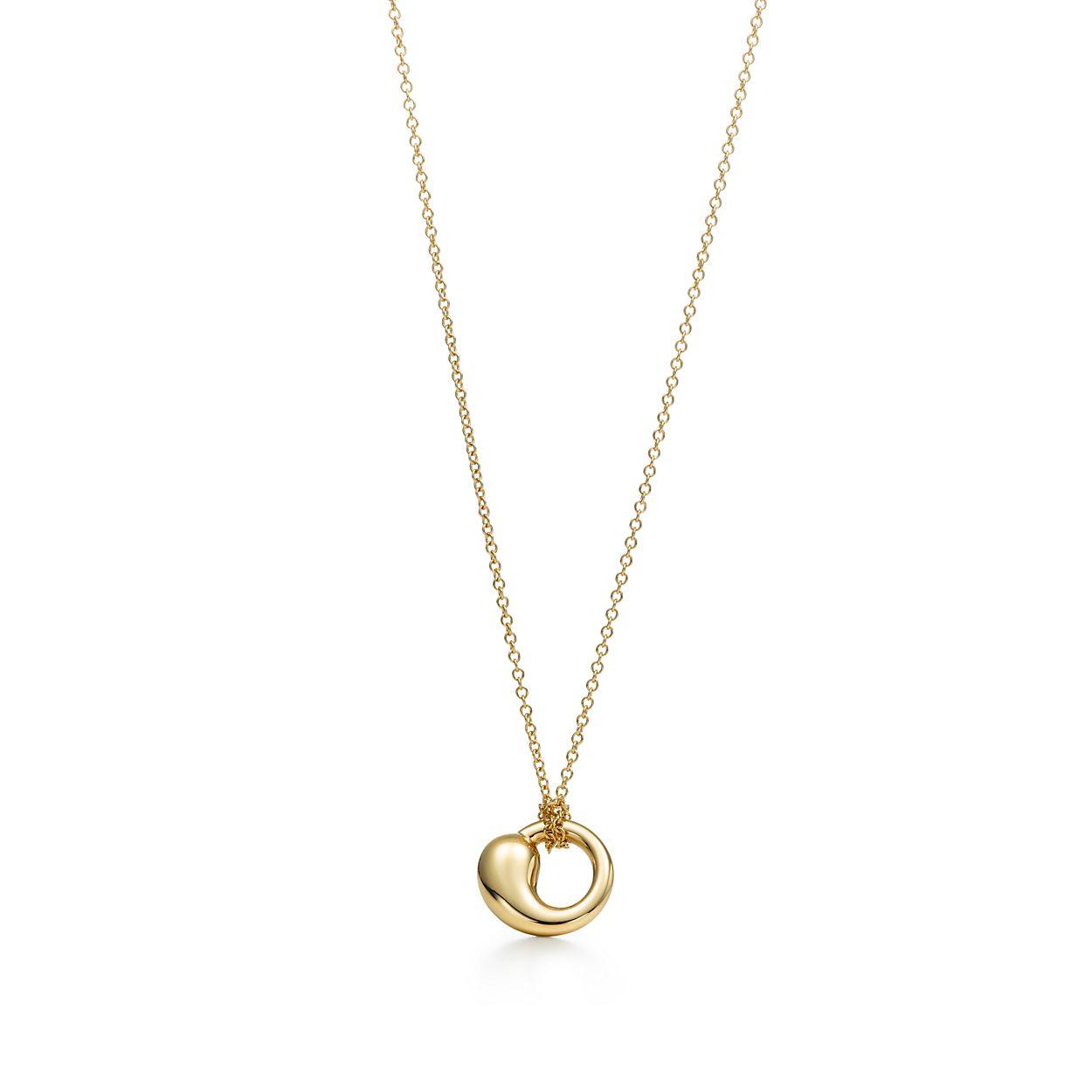 Elsa peretti eternal circle pendant in 18k gold small tiffany elsa perettieternal circle pendant aloadofball Gallery