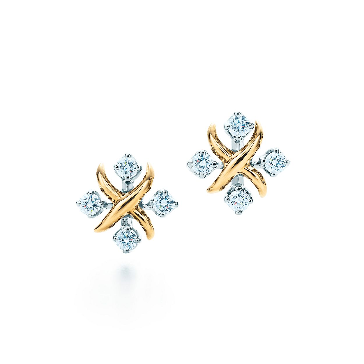 Tiffany & Co. Schlumberger® Lynn earrings in 18k gold with ...