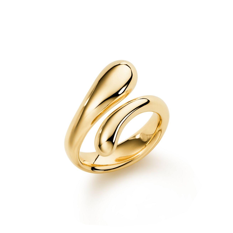 Elsa Peretti® 18K Gold Teardrop Ring | Tiffany & Co.