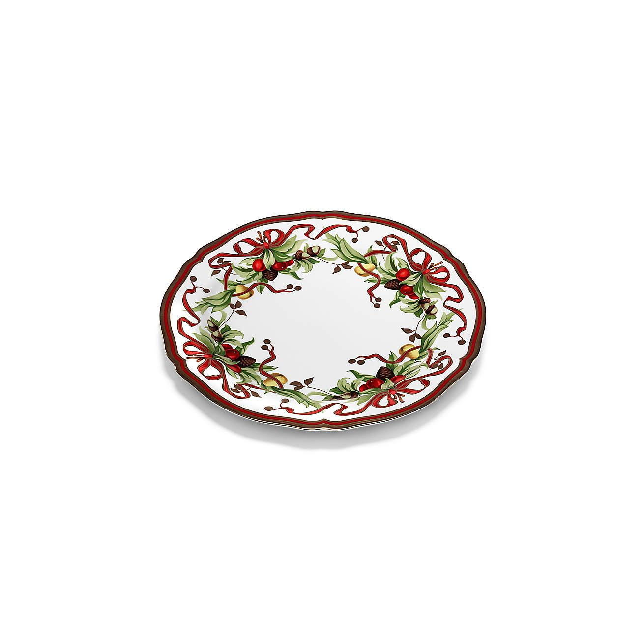 serving plate in porcelain co
