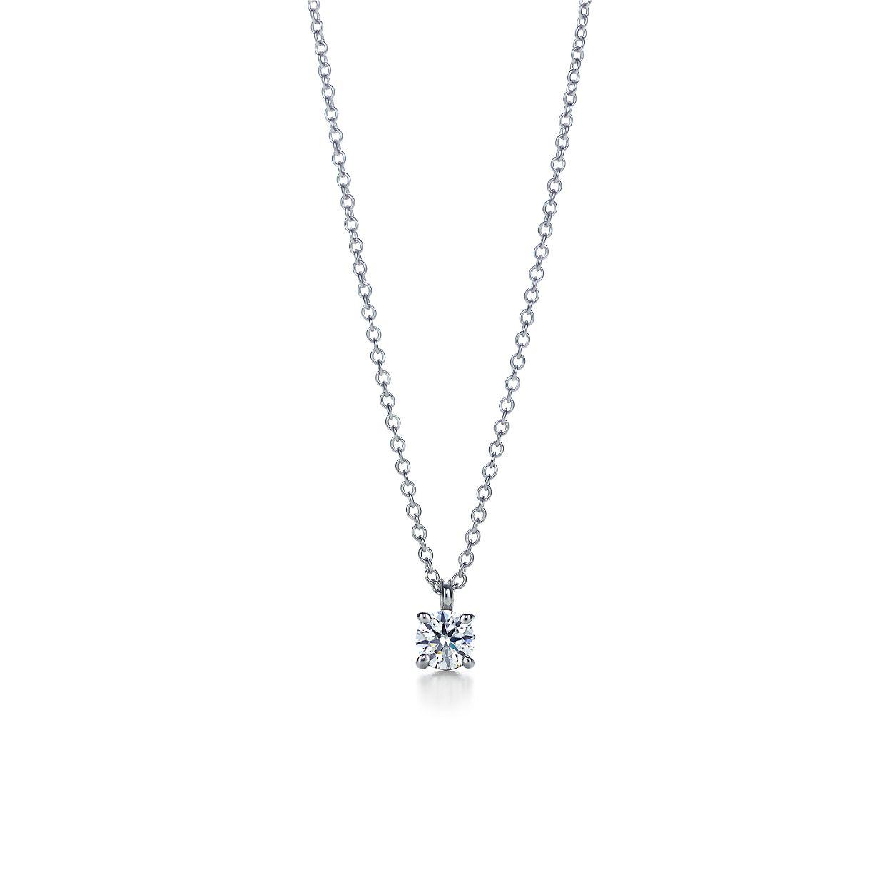 Tiffany solitaire diamond pendant in platinum tiffany co tiffany solitaire diamond pendant tiffany solitaire diamond pendant mozeypictures Choice Image