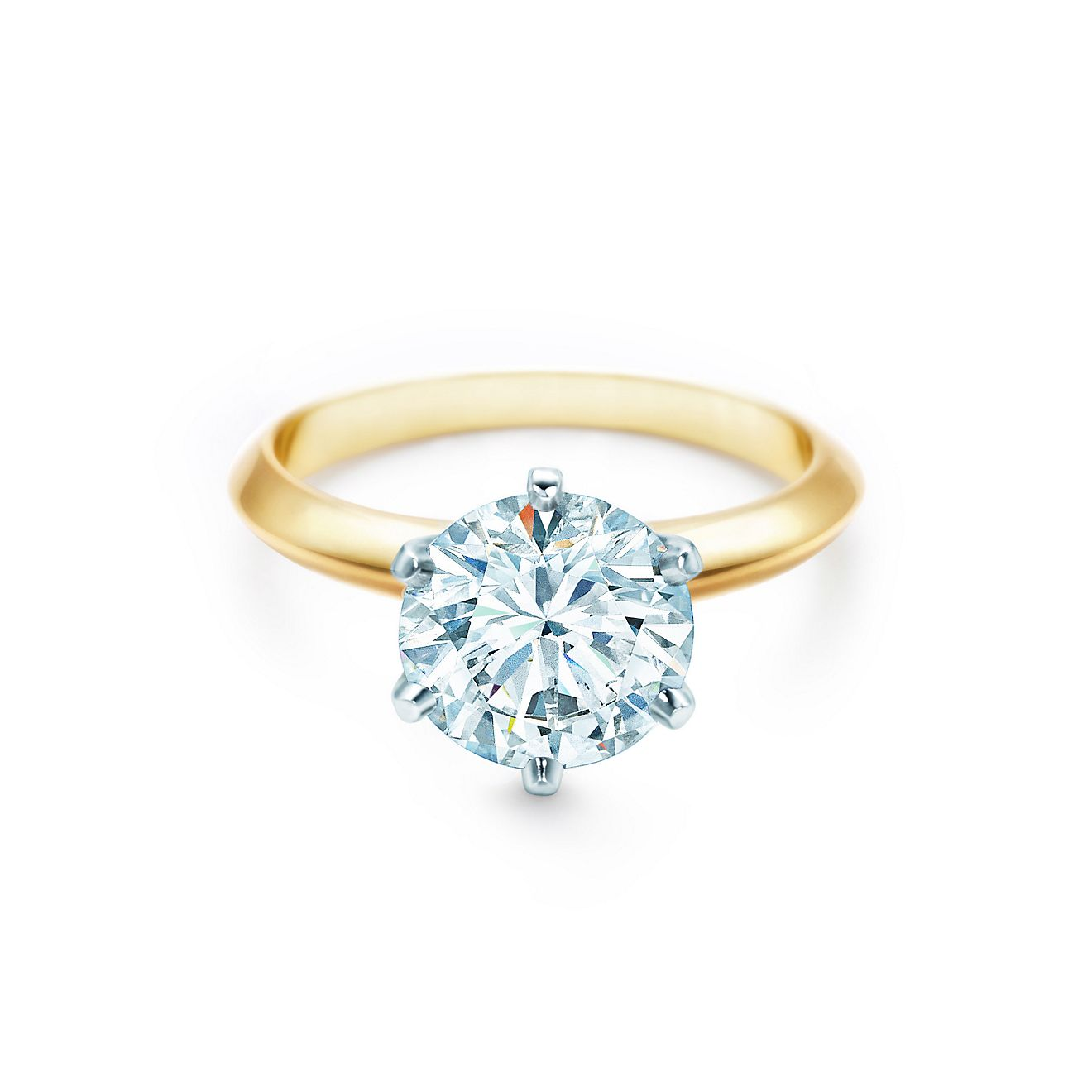 THE TIFFANY® SETTING 18K YELLOW GOLD