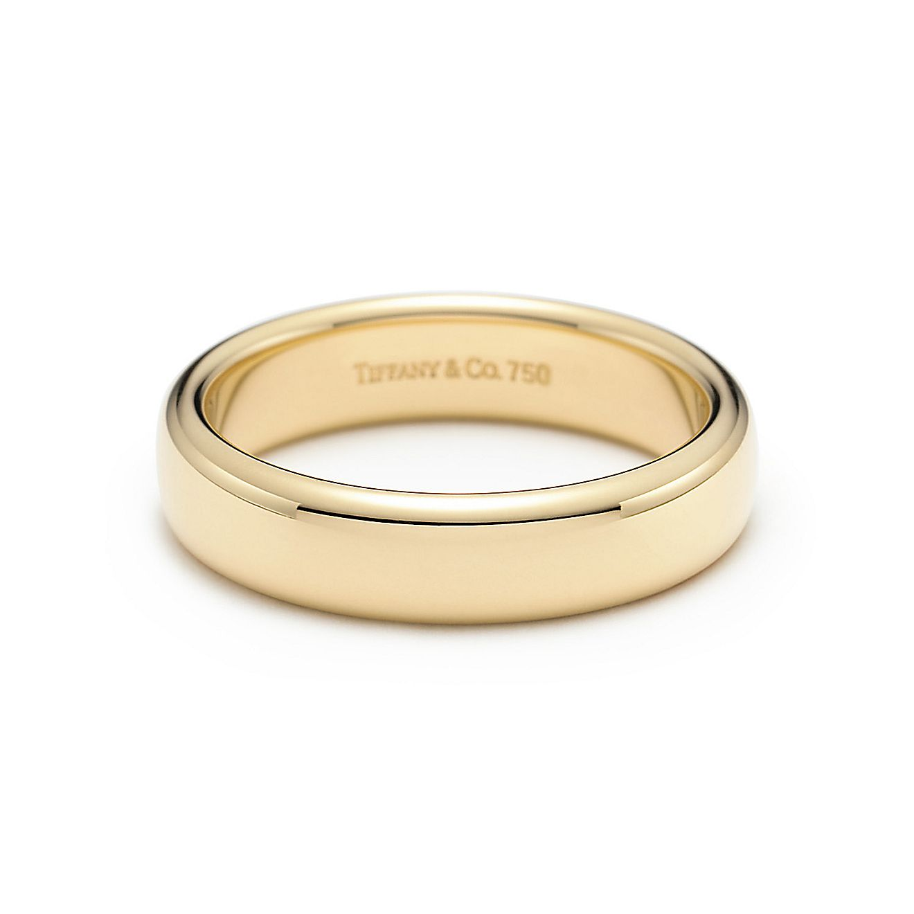 ... tiffany creation of incomparable beauty wedding band ring in 18k gold