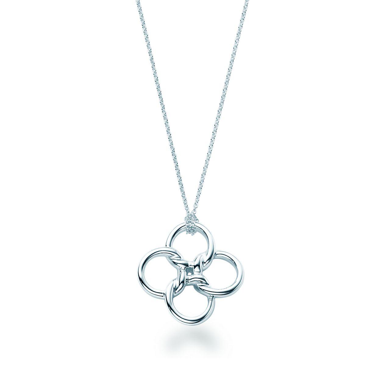 Elsa peretti quadrifoglio pendant in sterling silver tiffany elsa perettiquadrifoglio pendant mozeypictures Gallery