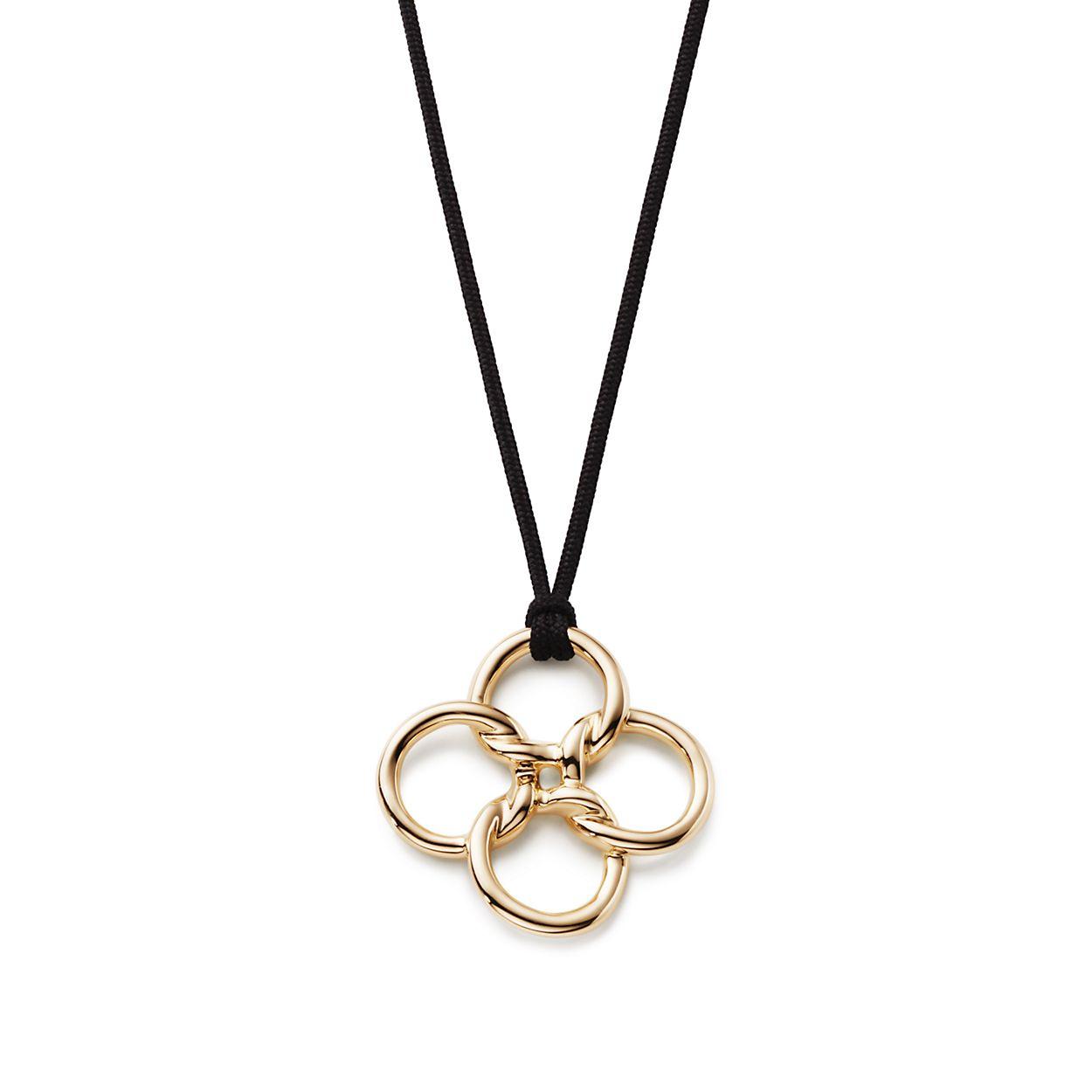 Elsa peretti quadrifoglio pendant in 18k gold medium tiffany elsa perettiquadrifoglio pendant elsa perettiquadrifoglio pendant mozeypictures Gallery