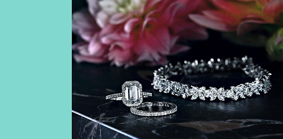 Tiffany & Co. Diamond Wedding Jewellery