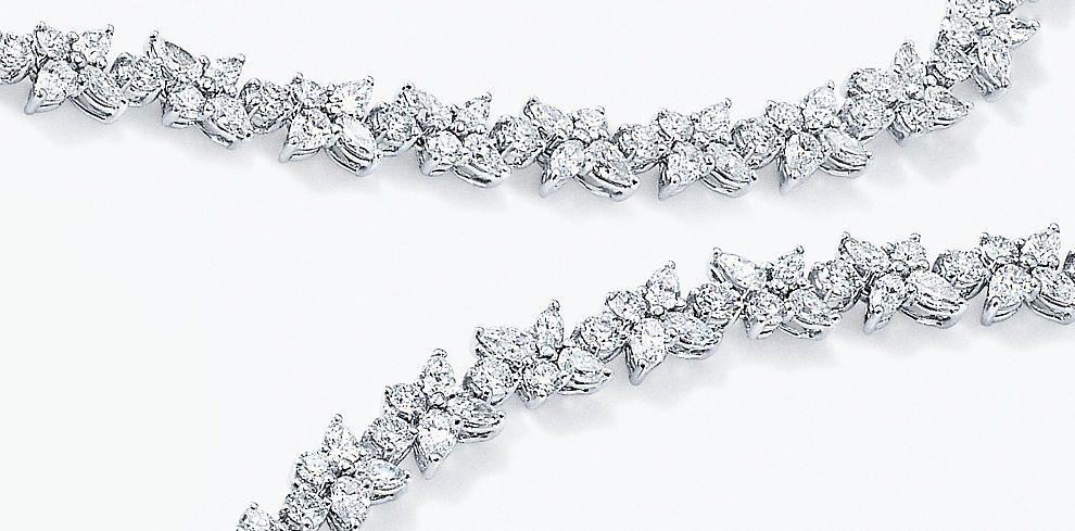 Tiffany Victoria Diamond Jewelry Collection