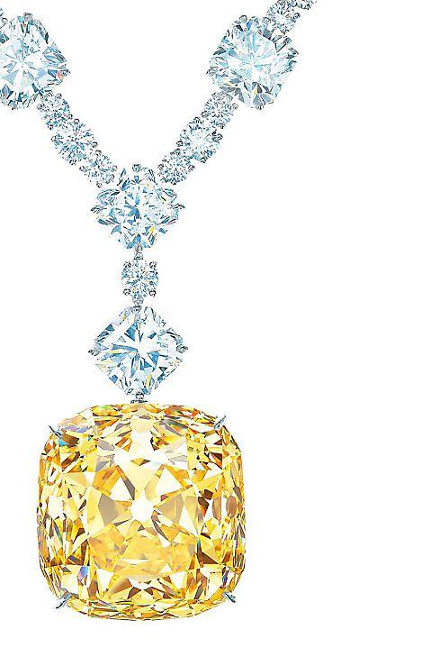 Tiffany Yellow Diamond Necklace