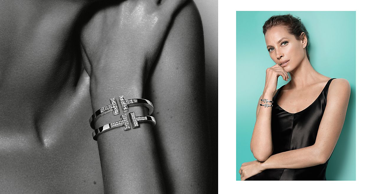 Tiffany T Square Diamond Bracelets | Tiffany T