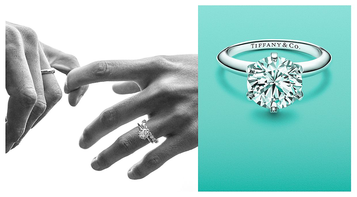 Engagement Rings and Diamond Engagement Rings Tiffany Co