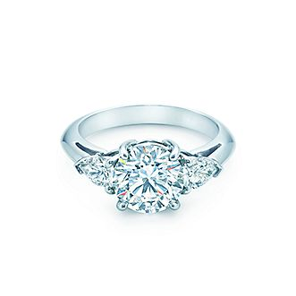 Browse engagement ring collection tiffany co express your eternal love with a trio of scintillating stones junglespirit Gallery