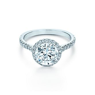 Browse Halo Engagement Rings Tiffany Co