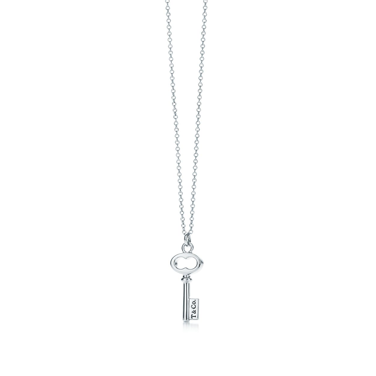 Tiffany keys tco key pendant in sterling silver mini key pendant tiffany keystco key pendant aloadofball Gallery