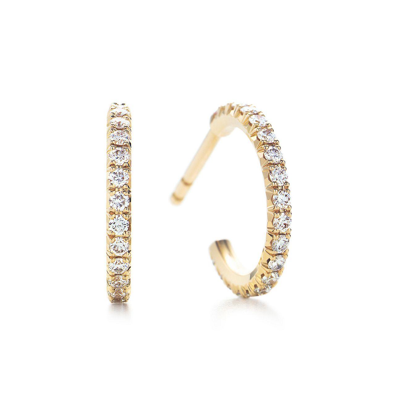 tiffany earrings gold hoop the wife guide gold hoop