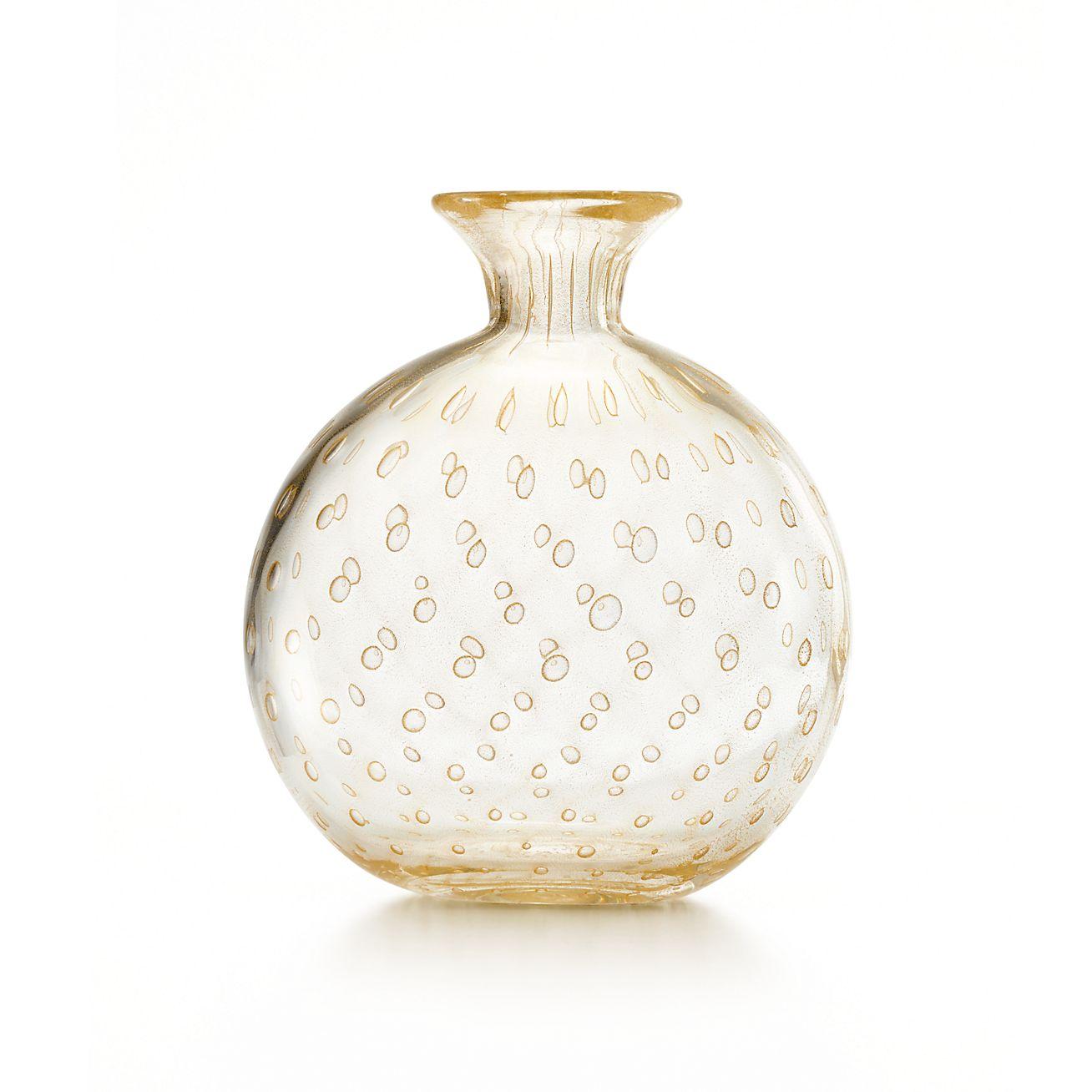 Bullicante vase in handmade mouth blown venetian glass with 24k bullicante vase bullicante vase reviewsmspy