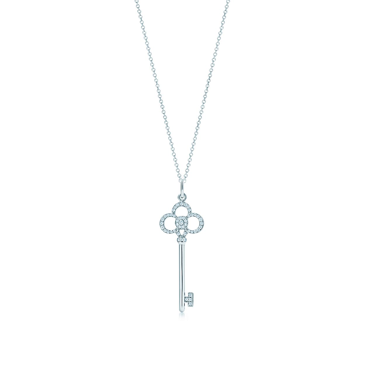 Tiffany keys crown key diamond pendant in 18k white gold tiffany keyscrown key pendant tiffany keyscrown key pendant aloadofball Gallery
