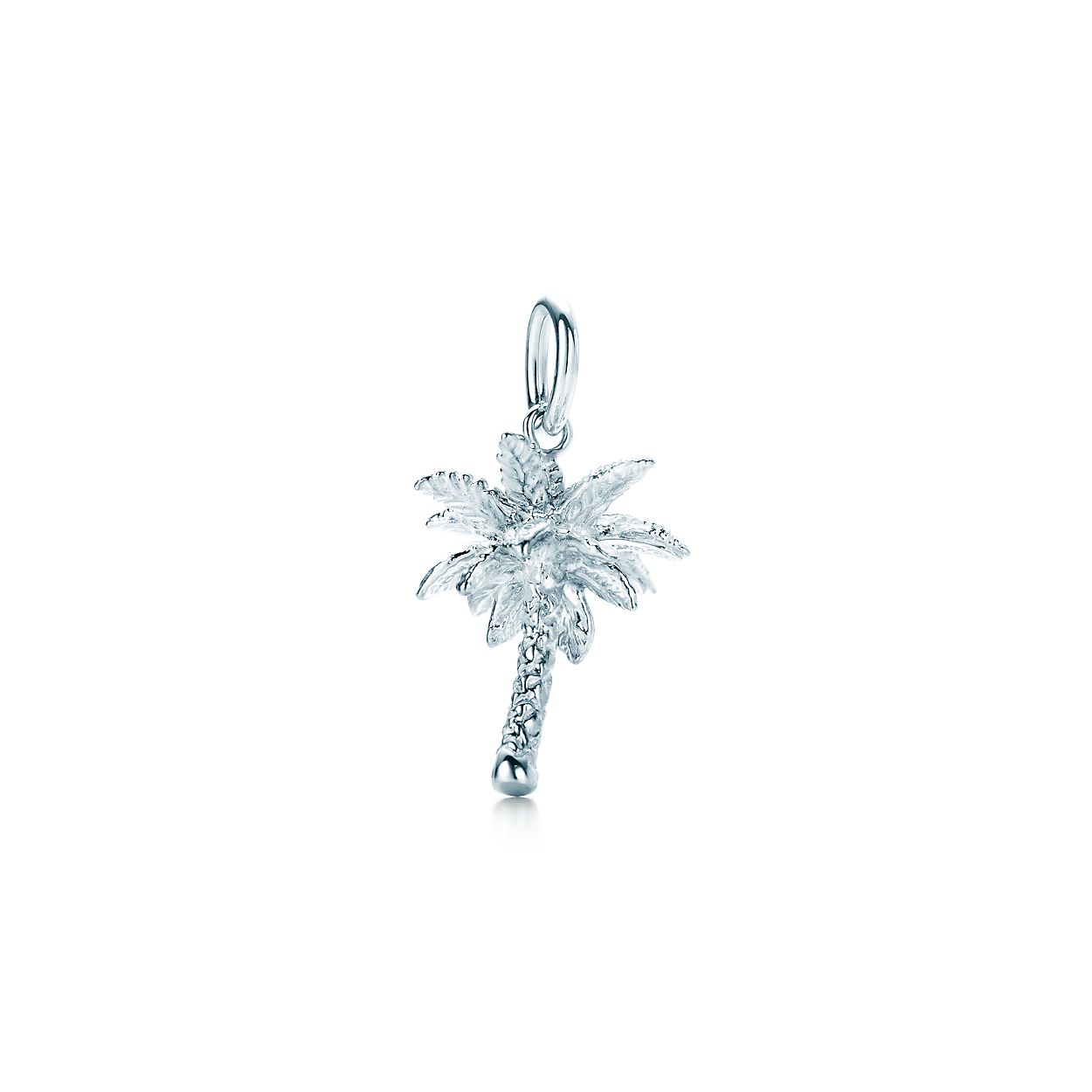 Palm tree charm in sterling silver tiffany co palm tree charm palm tree charm buycottarizona Image collections