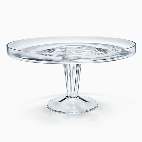 William Yeoward Edwina cake stand in glass.