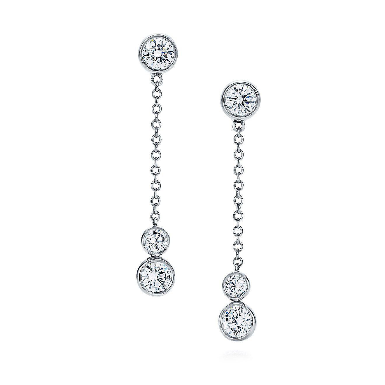5314e1da0 ... diamond bracelets. tiffany jazz drop earrings ...