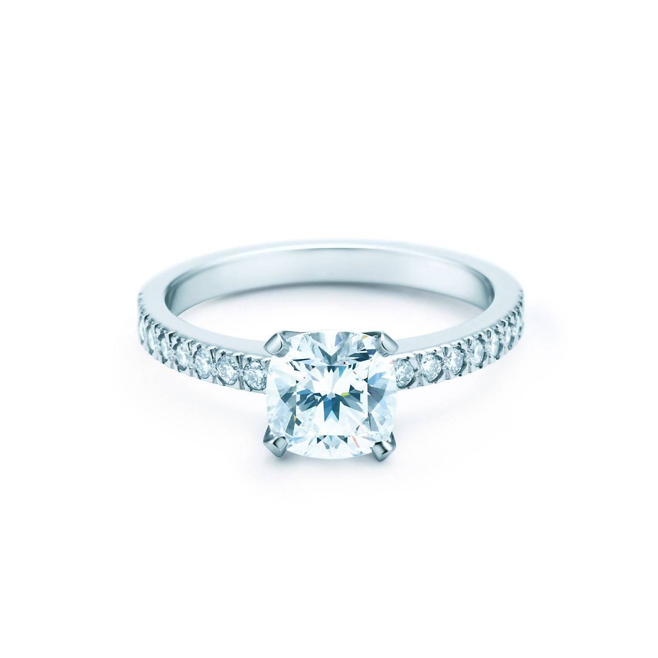 tiffany novo tiffany novo is a brilliant cushion cut creation with ...