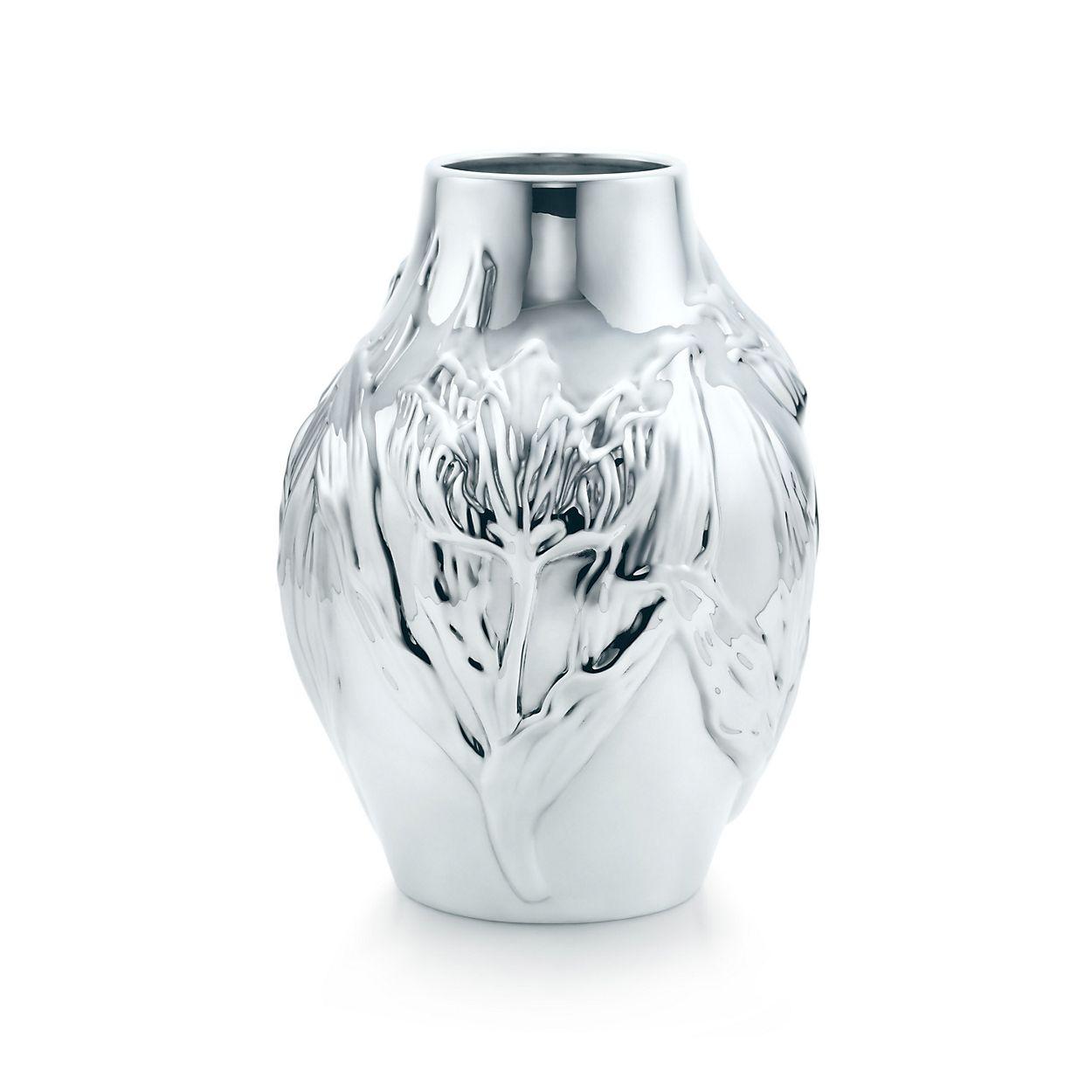 Tulip vase in sterling silver tiffany co tulip vase tulip vase reviewsmspy