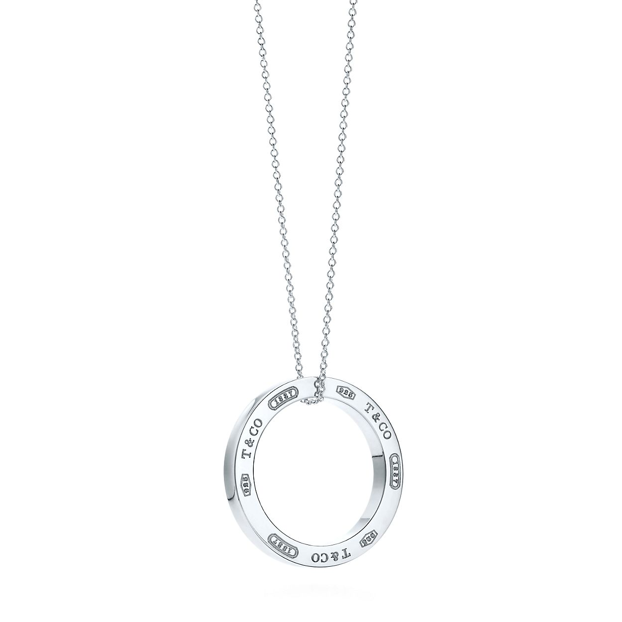Tiffany 1837 circle pendant in sterling silver large tiffany tiffany 1837circle pendant aloadofball Gallery