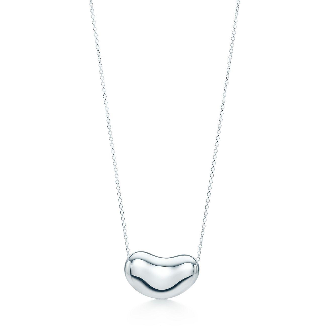 Elsa peretti bean pendant in sterling silver tiffany co elsa perettibean pendant audiocablefo Light gallery