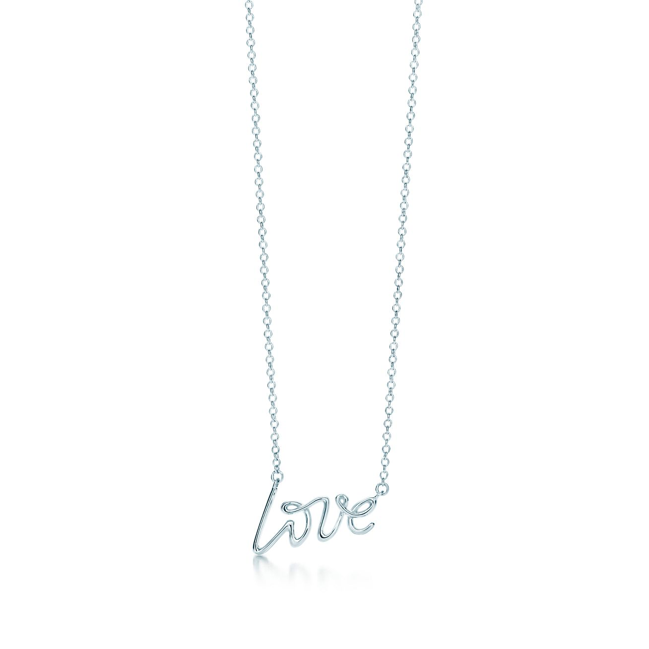 Palomas graffiti love pendant in sterling silver small palomas graffitilove pendant aloadofball Image collections