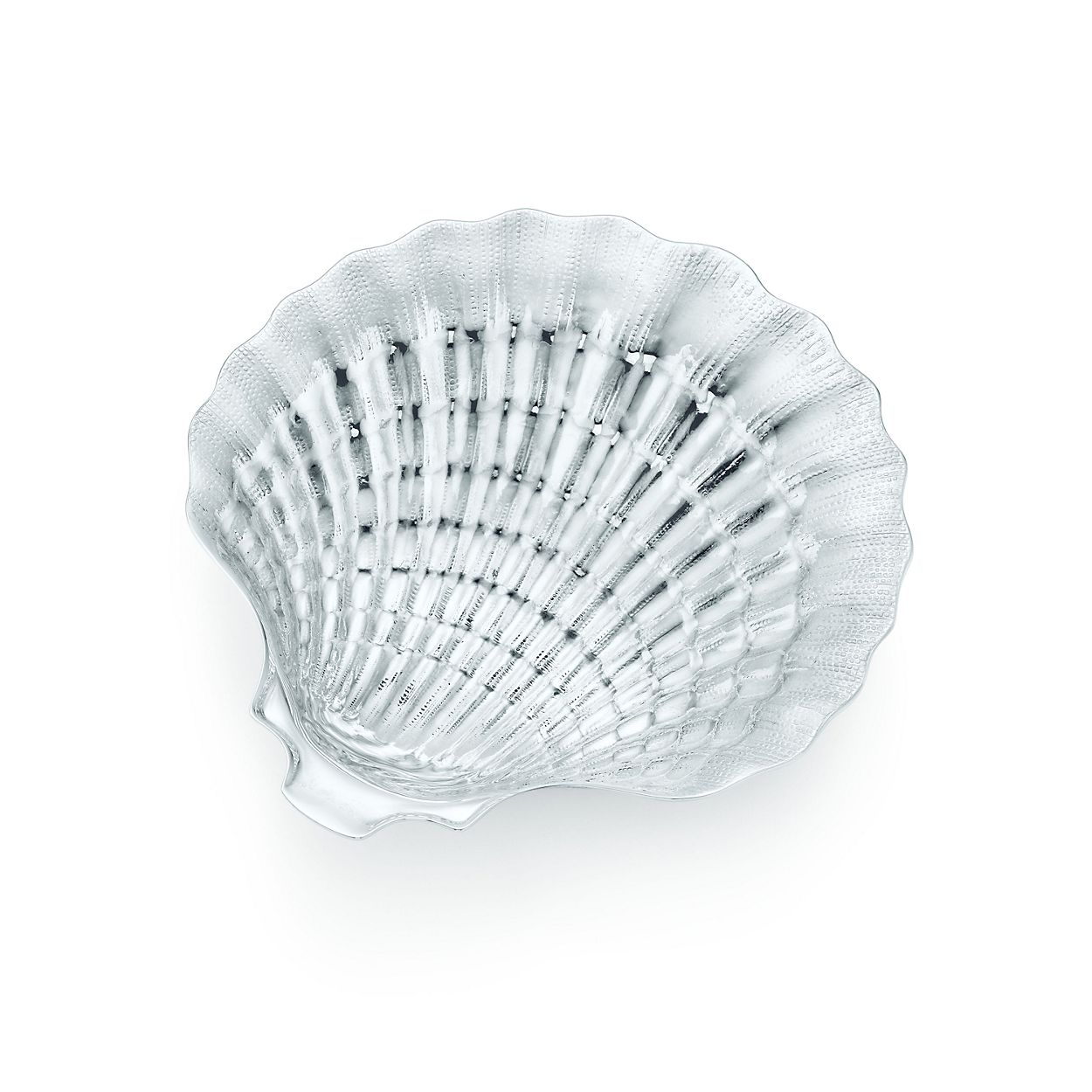 Scallop shell dish in sterling silver tiffany co scallop shell dish scallop shell dish biocorpaavc Image collections
