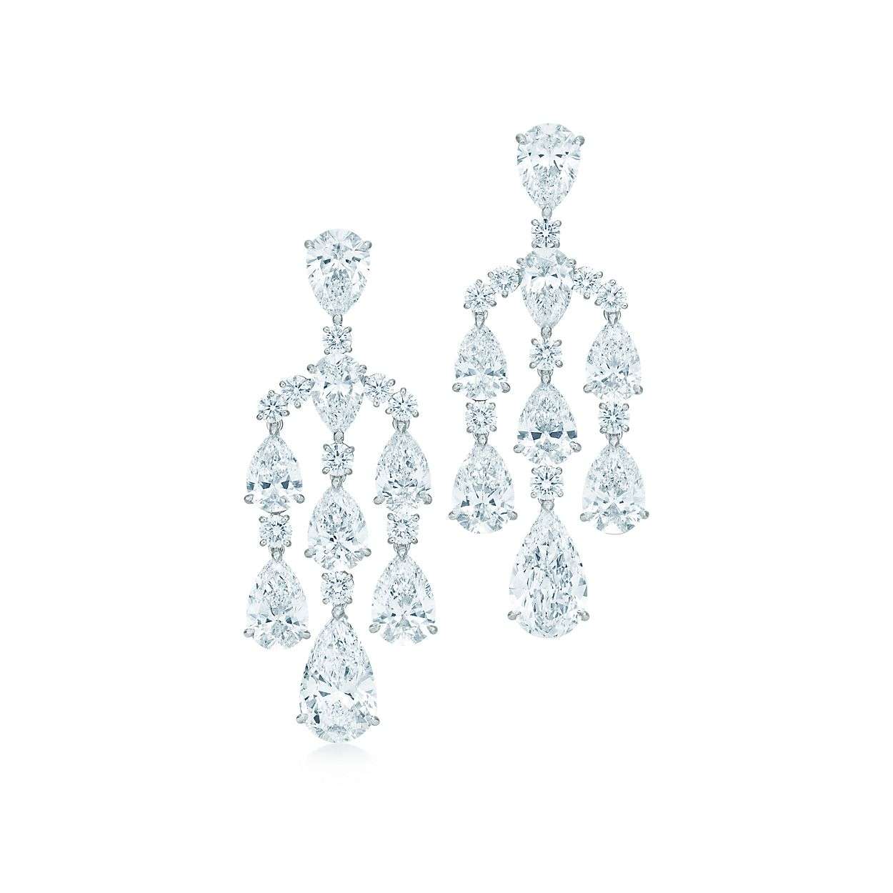 The gatsby collection chandelier earrings in platinum with the gatsby collectionchandelier earrings the gatsby collectionchandelier earrings arubaitofo Choice Image