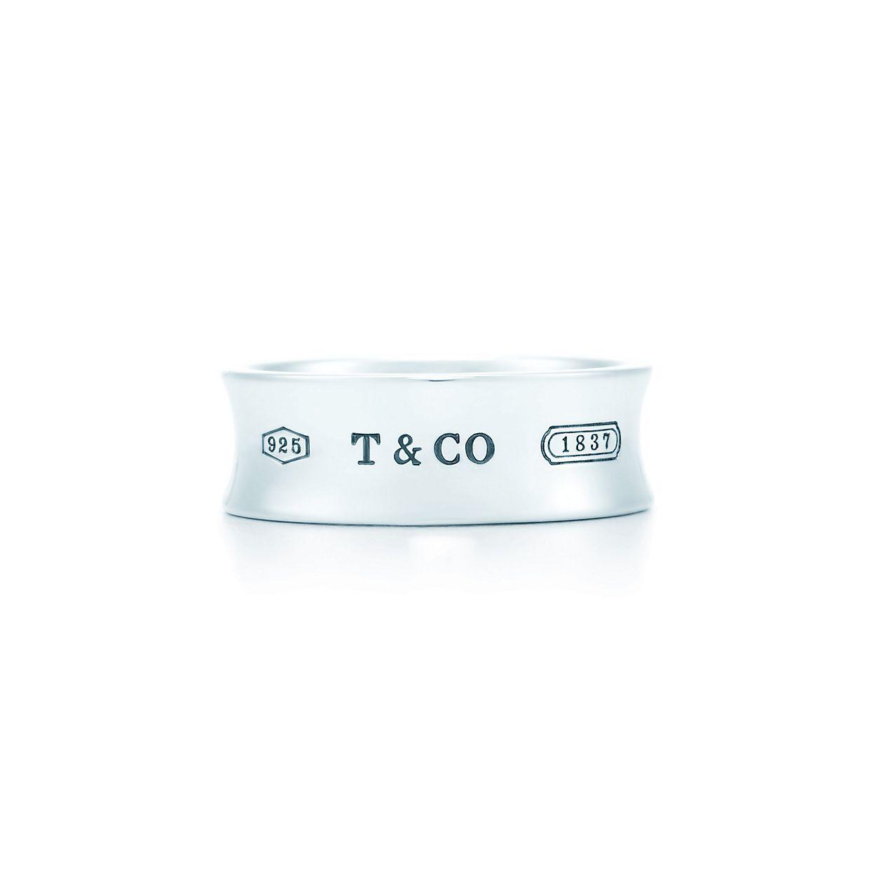 b41149363 Tiffany 1837® ring in sterling silver, medium. | Tiffany & Co.