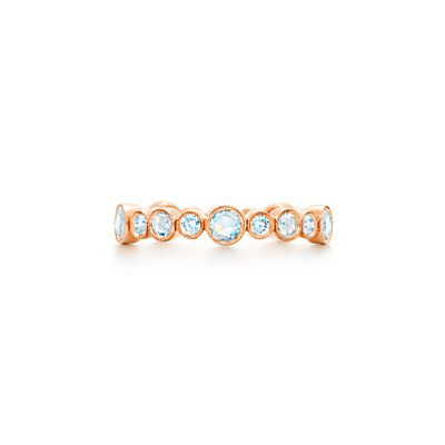 Tiffany & Co. Tiffany Cobblestone diamond band ring