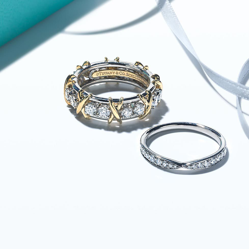 diamond wedding bands - Engagement Rings With Wedding Band