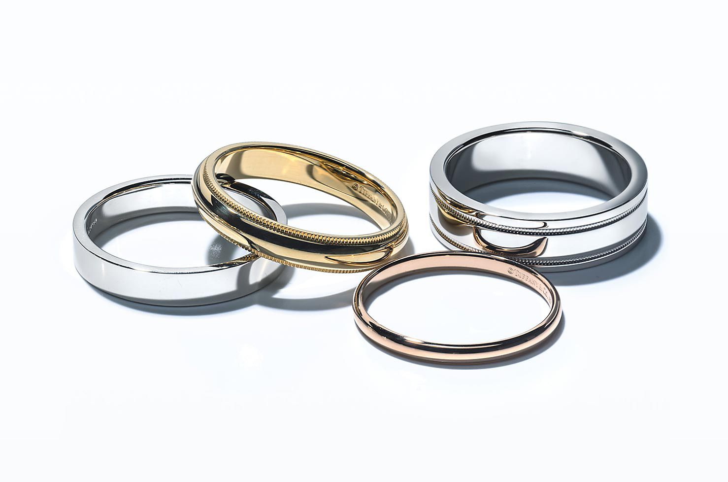 Tiffany Wedding Bands with Diamonds
