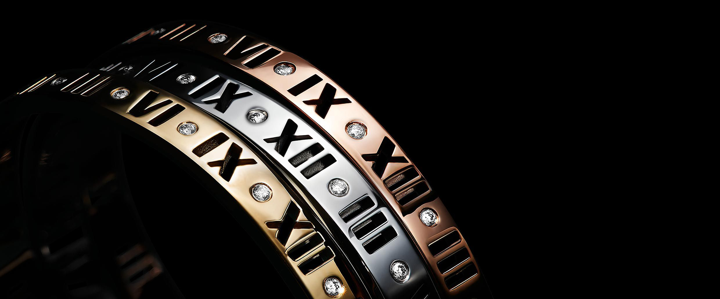 The Atlas Collection Roman Numeral Jewelry