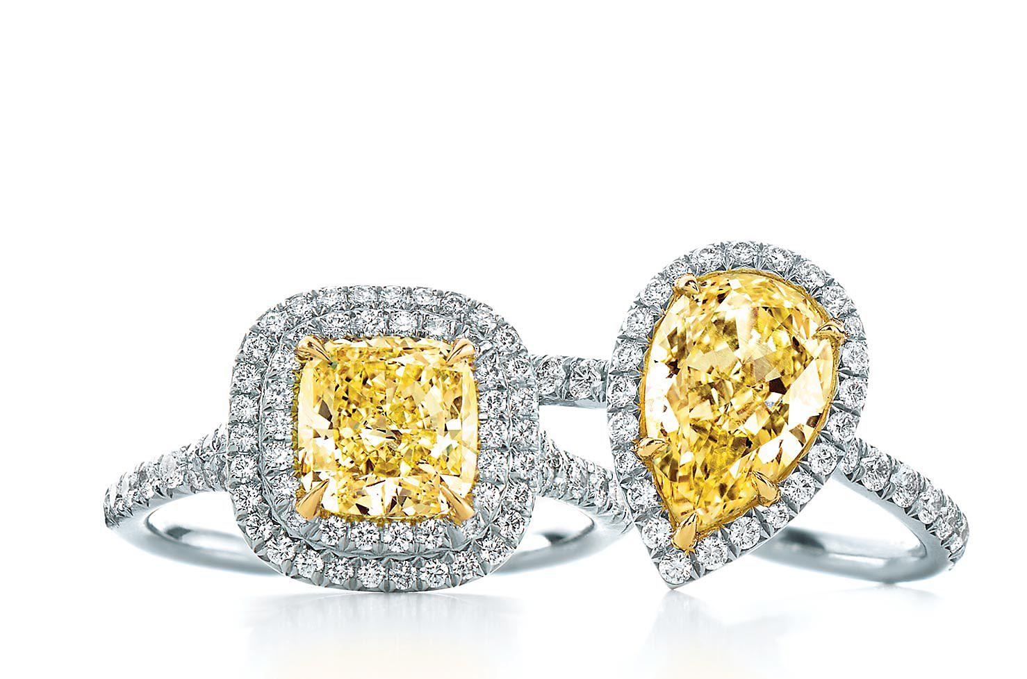 Tiffany Yellow Diamond rings