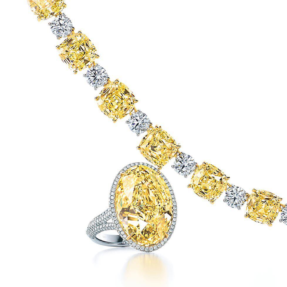 Tiffany Yellow Diamond Jewelry