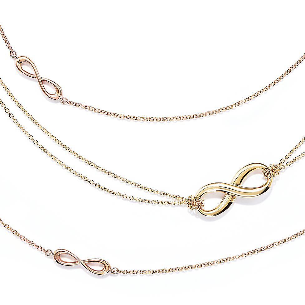 Tiffany Infinity Necklaces \u0026 Pendants
