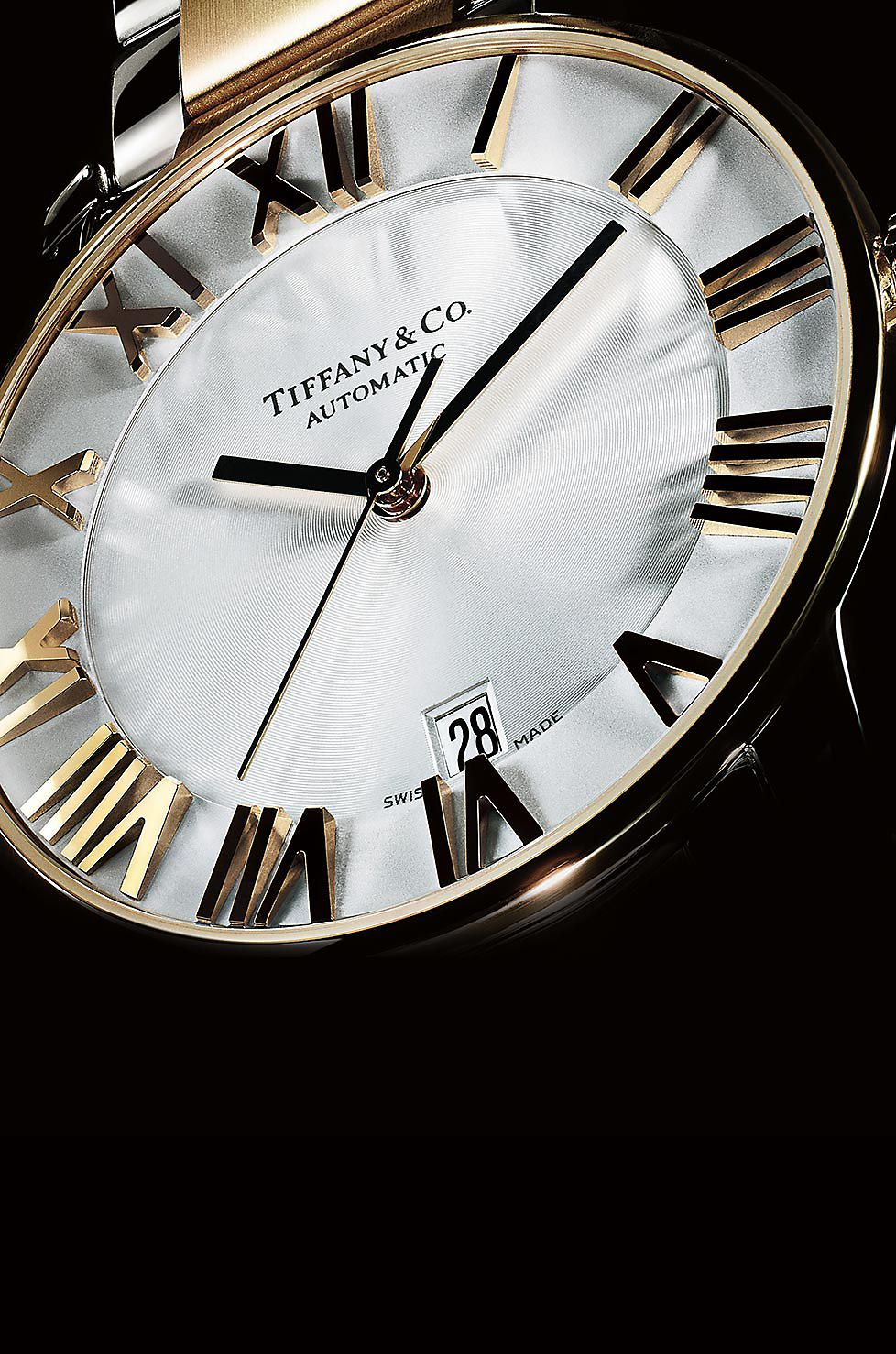 Tiffany Atlas Watches With Swiss Made Movements