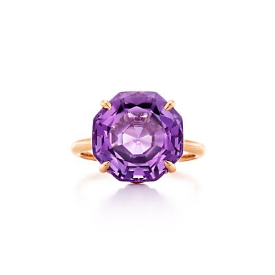 Tiffany & Co. Tiffany Sparklers octagonal amethyst ring