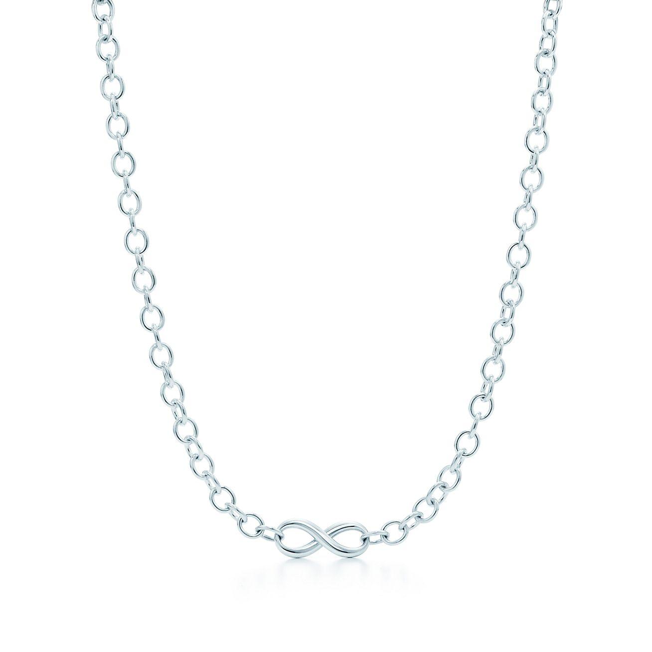 Tiffany Inspired Infinity Necklace Tiffany Infinity:necklace