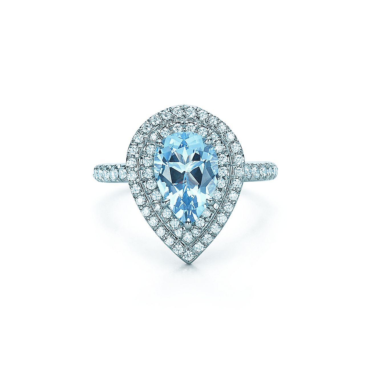 Aquamarine Jewelry Tiffany Tiffany Soleste Aquamarine