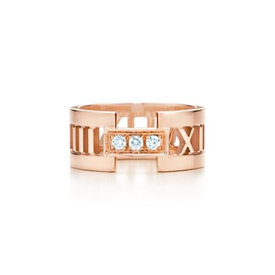Tiffany & Co. Atlas open ring
