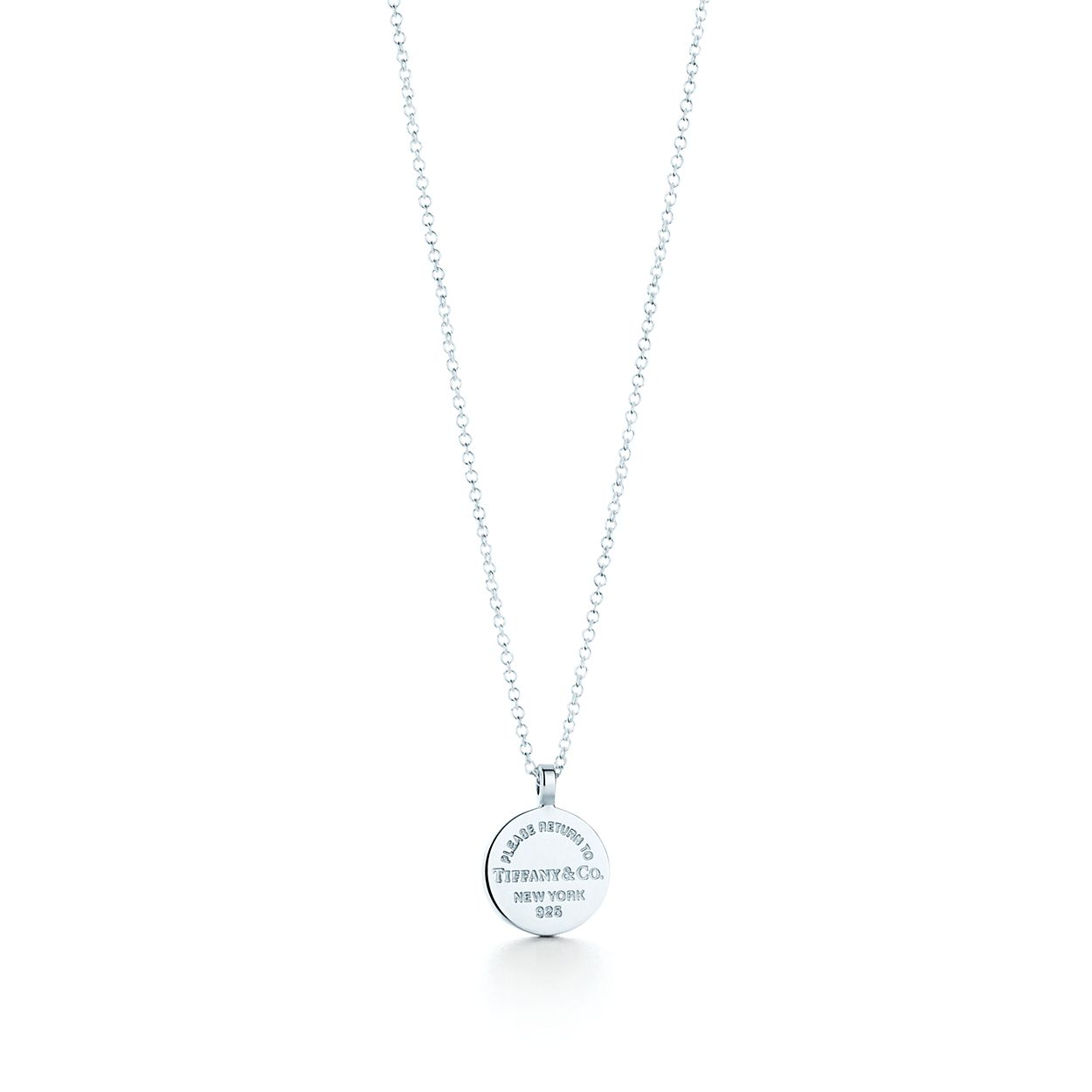 Return to tiffany circle pendant in sterling silver tiffany co return to tiffanycircle pendant mozeypictures Gallery