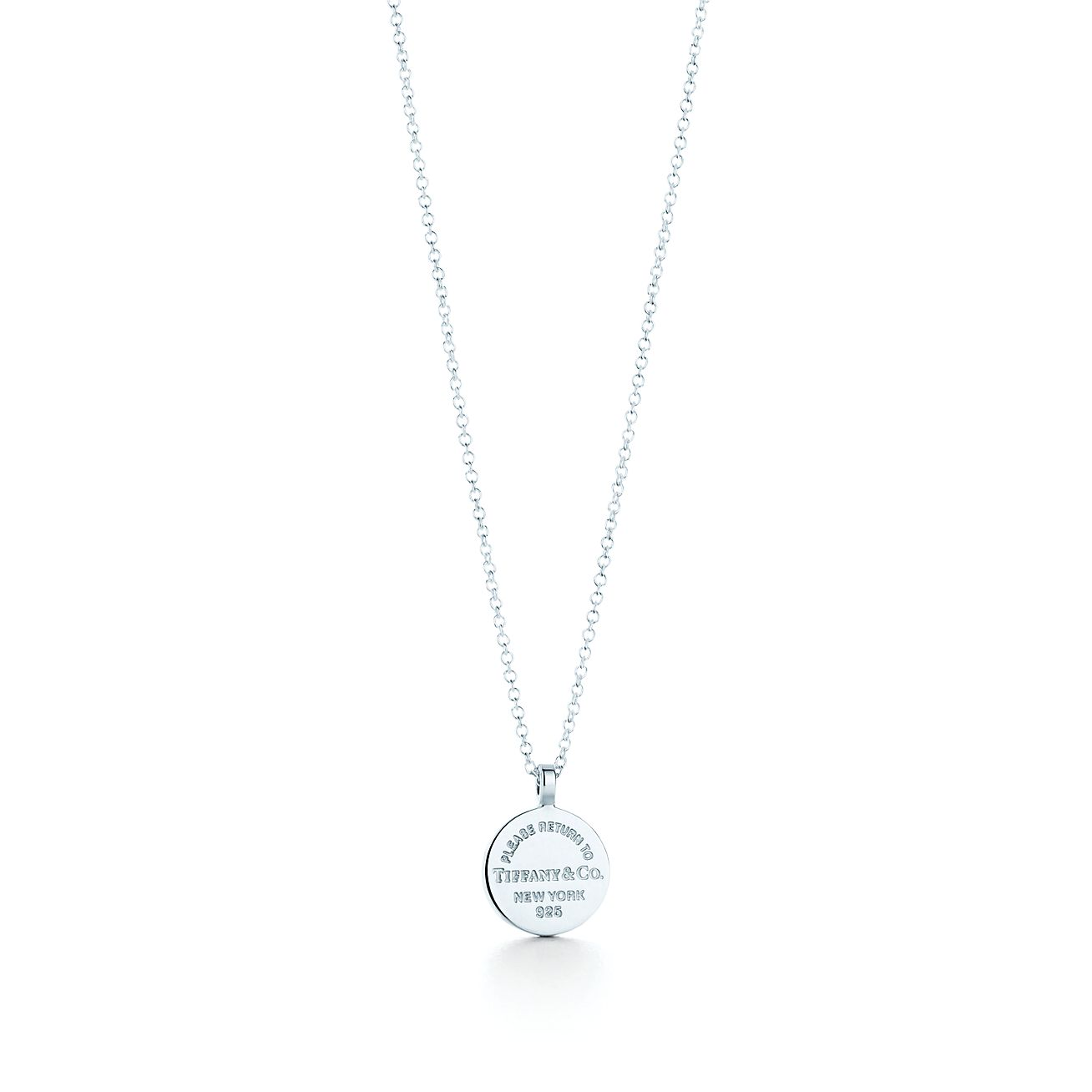 Return to tiffany circle pendant in sterling silver tiffany co return to tiffanycircle pendant audiocablefo light Images