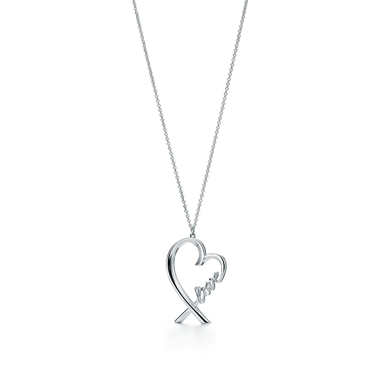Paloma picasso loving heart love pendant in sterling silver paloma picassoloving heartbrlove pendant aloadofball Image collections